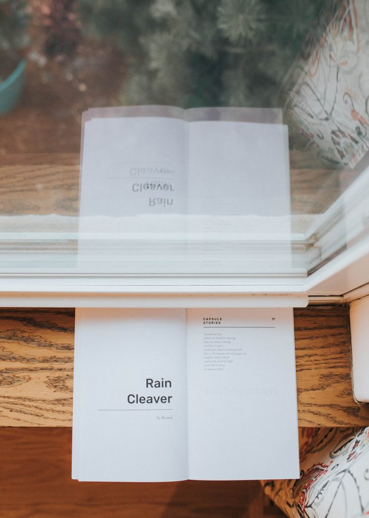 rain cleaver by sy brand capsule stories spring 2020 edition