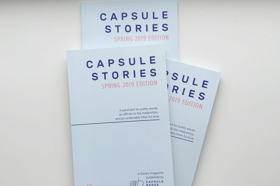capsule stories spring 2019 edition