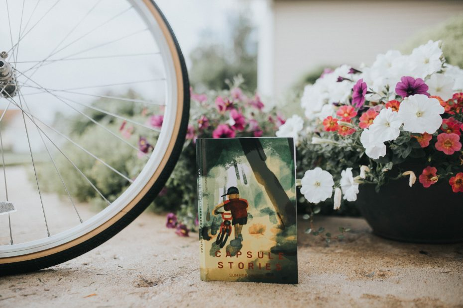 capsule stories summer 2020 edition with bike and flowers