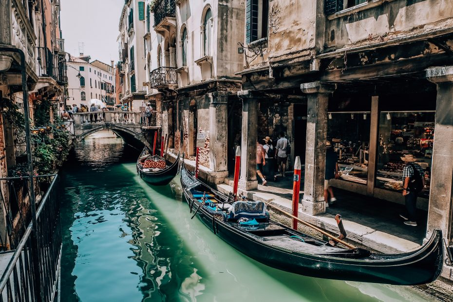 Photo of Venice canal by Julia Khalimova from Pexels