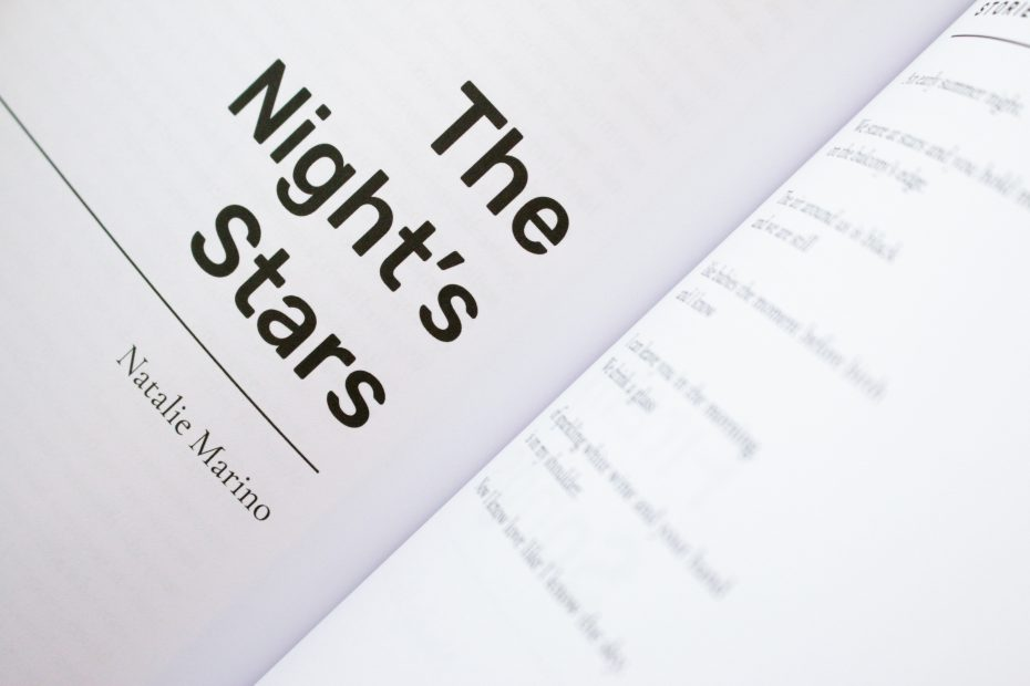 the night's stars by natalie marino in capsule stories summer 2021 edition